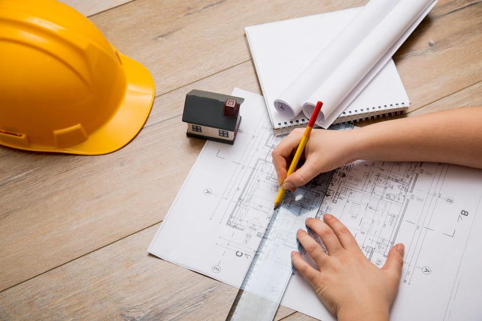 La construction d'une maison en bois commence toujours par l'élaboration d'un projet