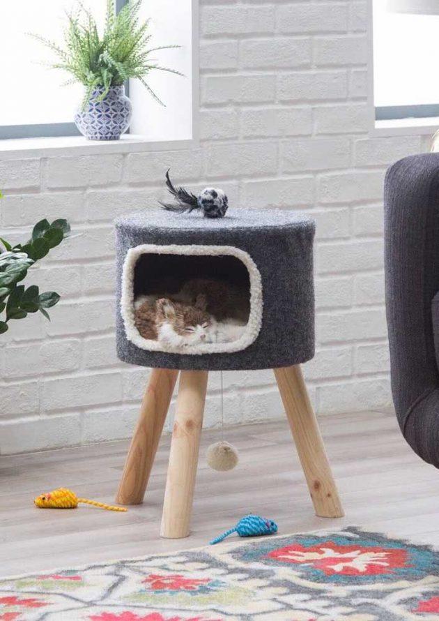 Les maisons de chat les plus mignonnes pour votre inspiration