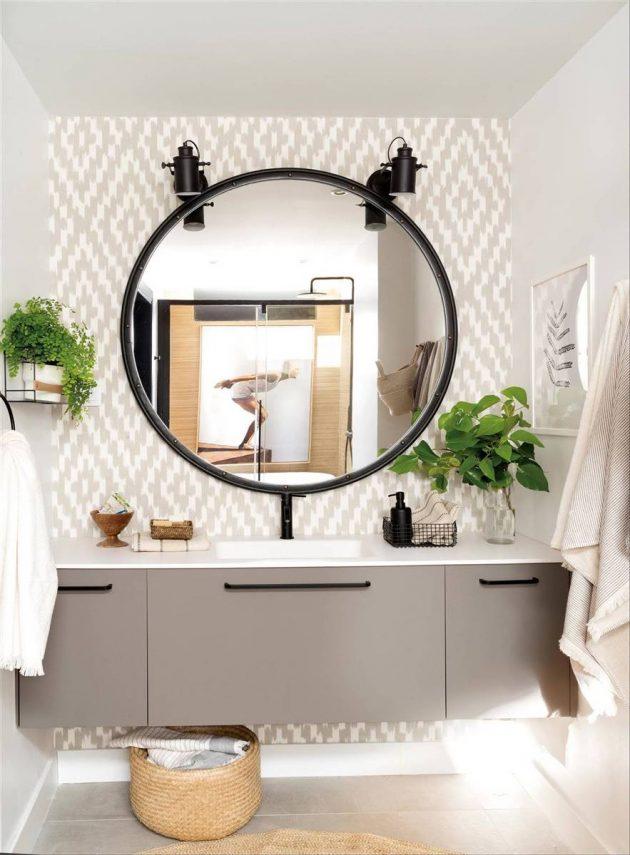 Idées décoratives sur les appliques de salle de bain