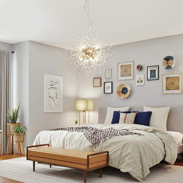 Des plafonniers qui changeront tout le décor de la chambre