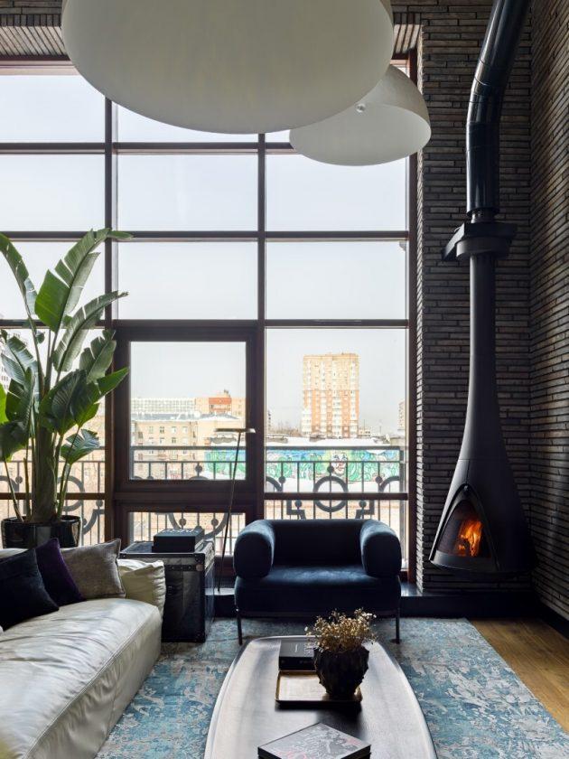 Manhattan House par INRE Design à Moscou, Russie