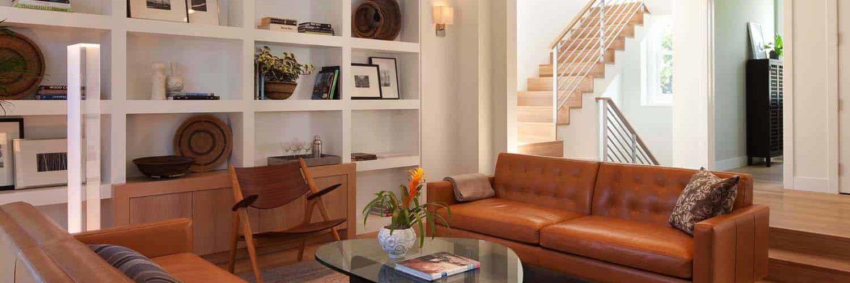 library-modern-family-room