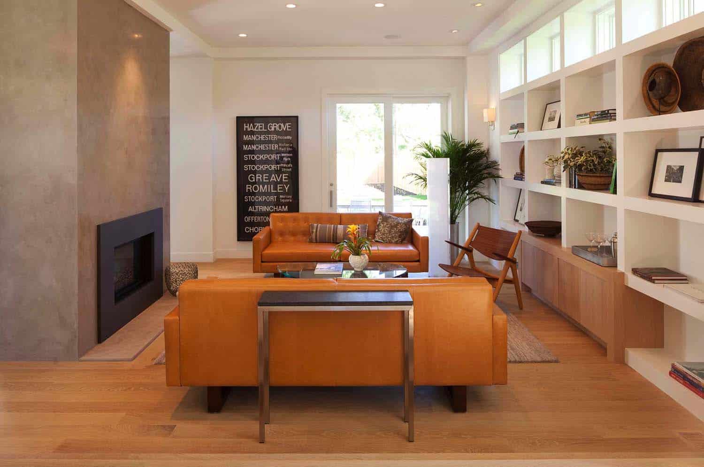maison-bibliothèque-salle-familiale-moderne-style-style-bardeau