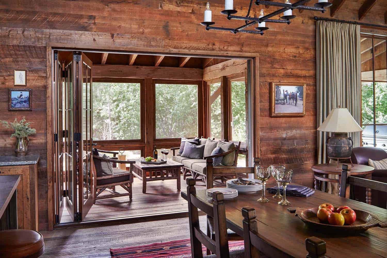 salle-à-manger-rustique-ranch