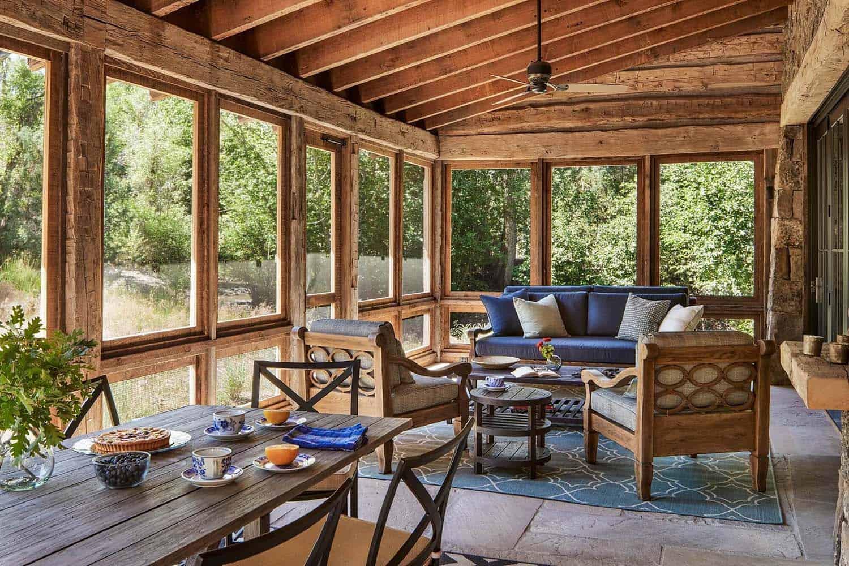 utah-rustique-ranch-maison-porche