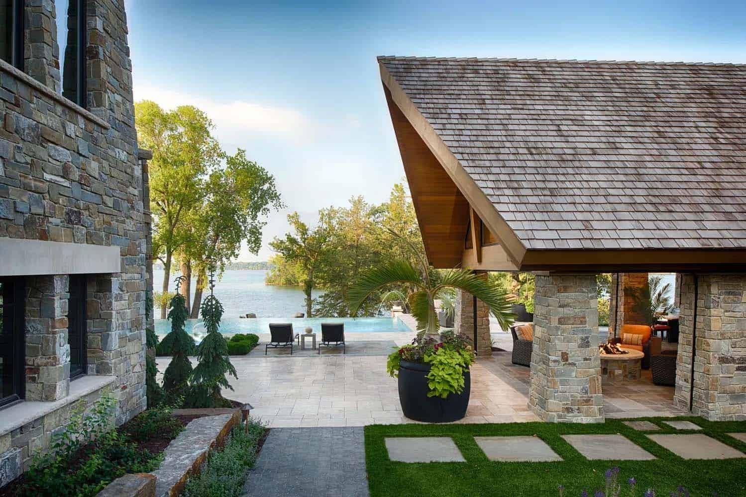 poolhouse-montagne-moderne