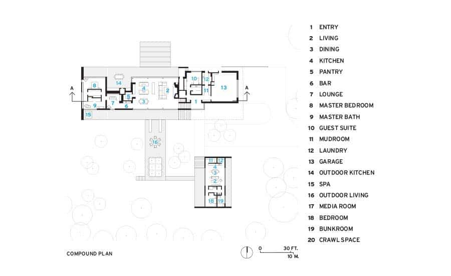plan-d-étage-moderne