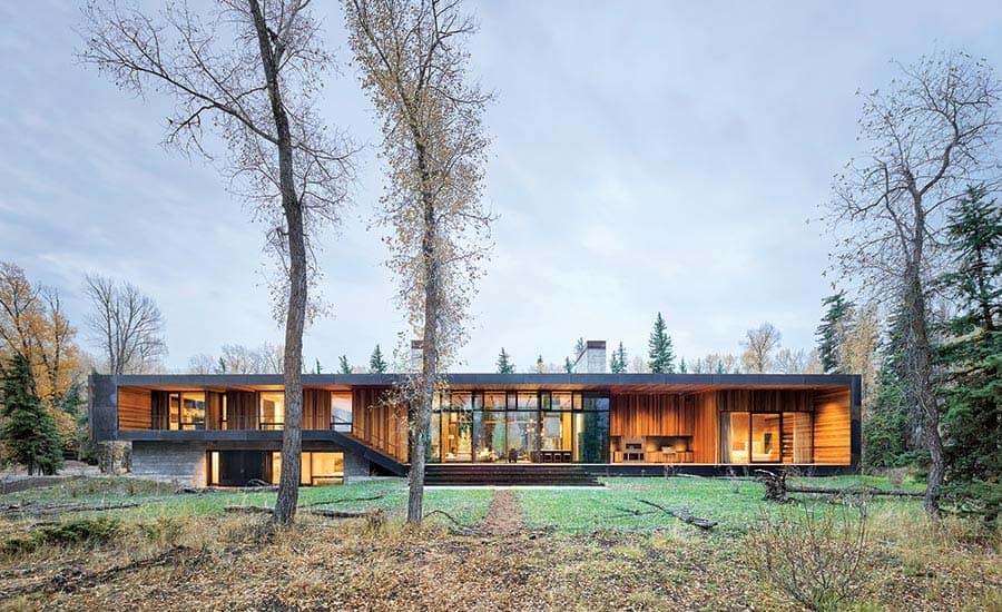 frappant-maison-moderne-extérieur