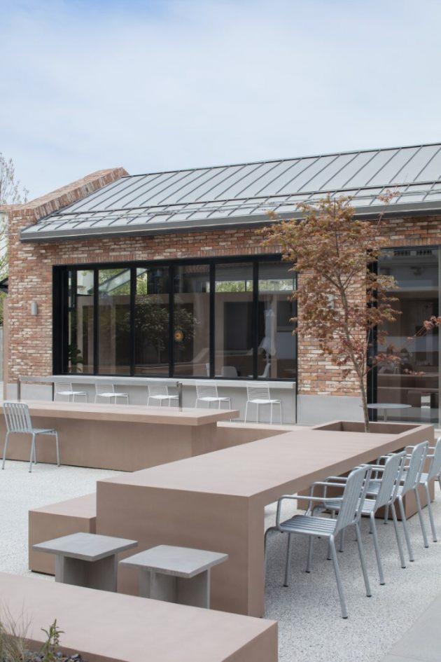 1402 Coffee Shop à Aranya par BLUE Architecture Studio à Changli, Chine