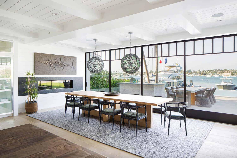 maison-de-plage-moderne-salle-à-manger-style-plage