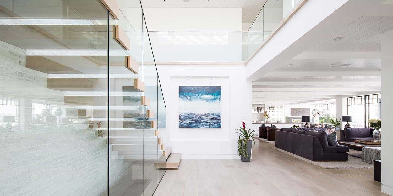 escalier-style-plage-moderne-maison-de-plage