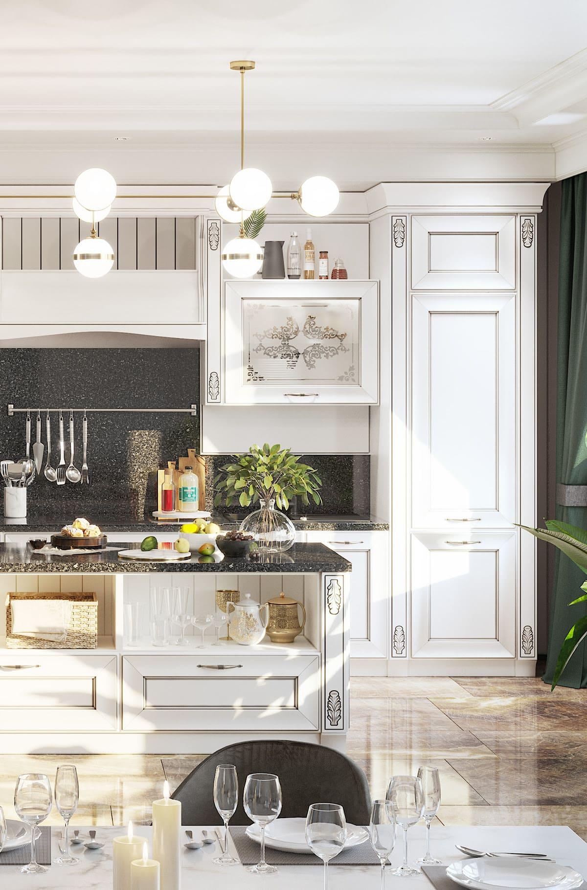 photo de cuisine blanche 8