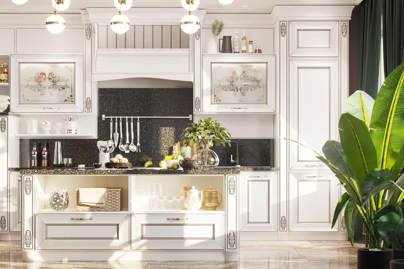 photo de cuisine blanche 10