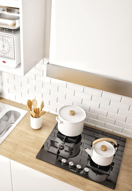 photo de cuisine blanche 6