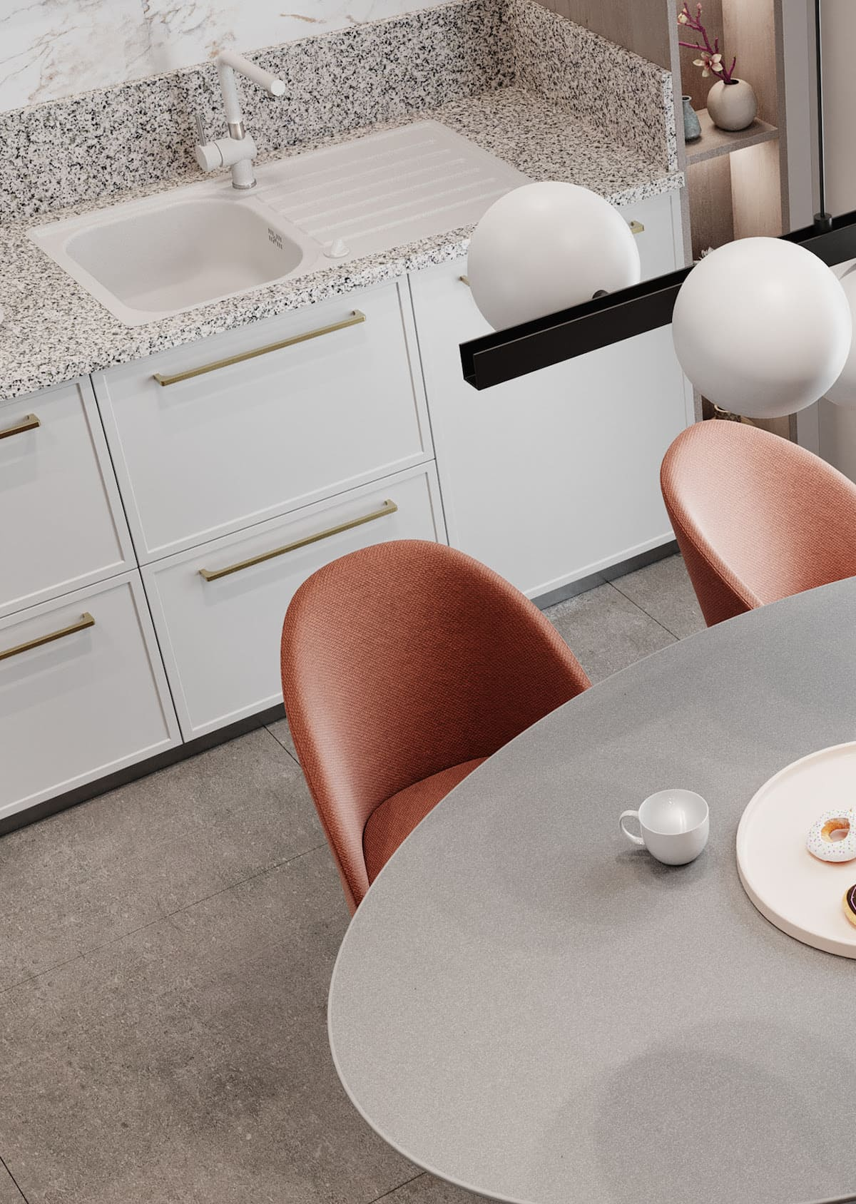 photo de cuisine blanche 15