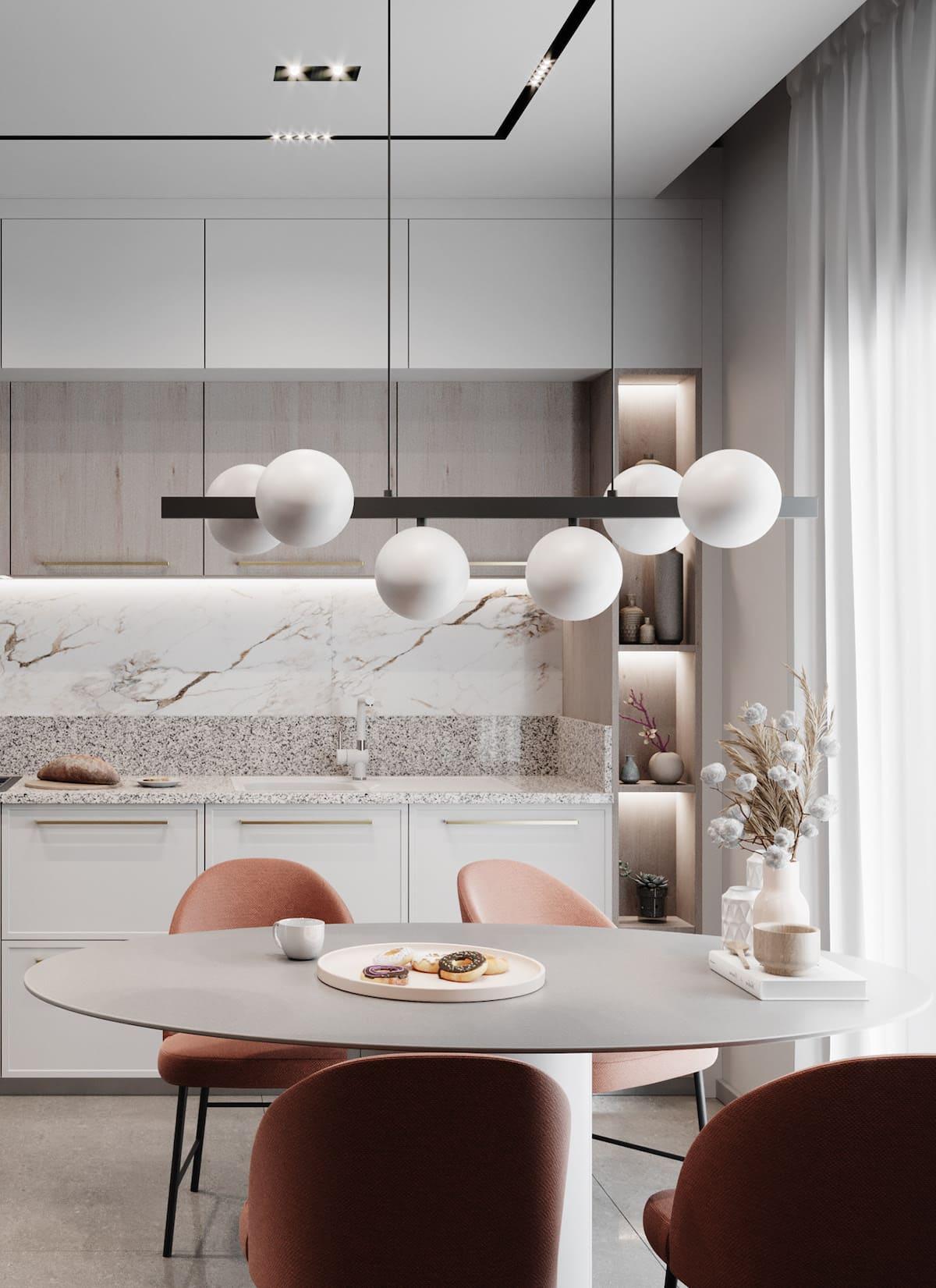 photo de cuisine blanche 16