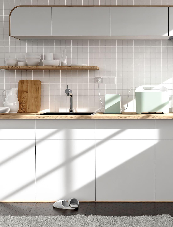 photo de cuisine blanche 19