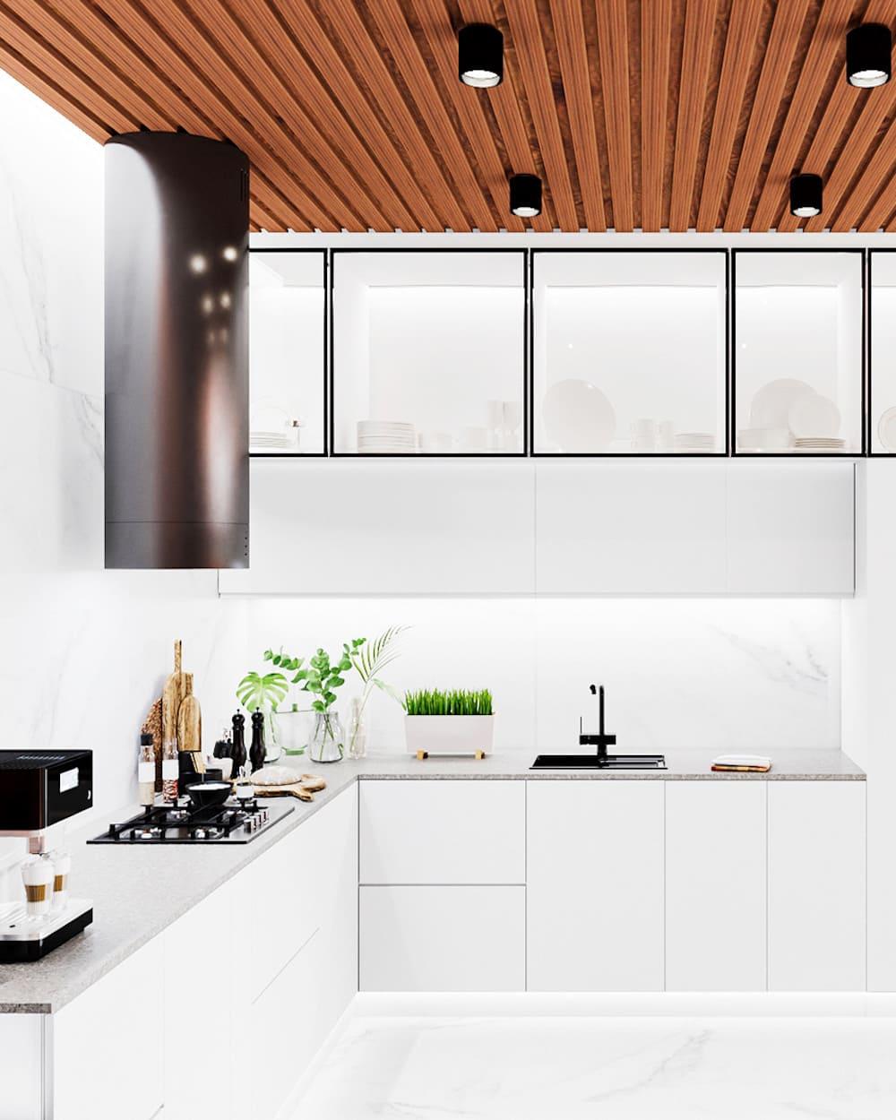 photo de cuisine blanche 24