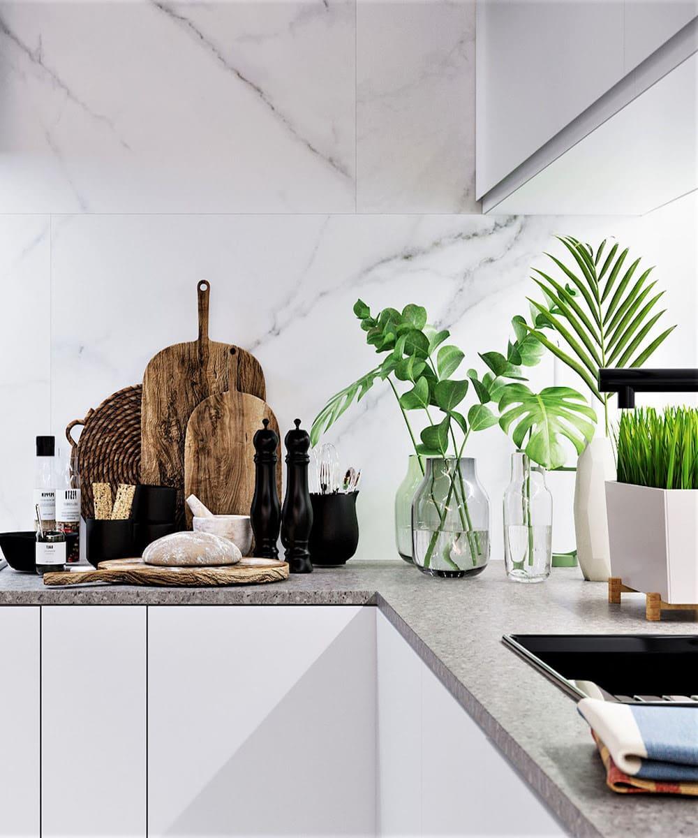 photo de cuisine blanche 25
