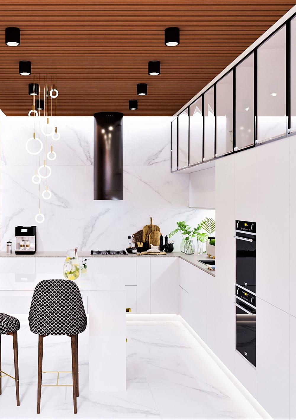 photo de cuisine blanche 26