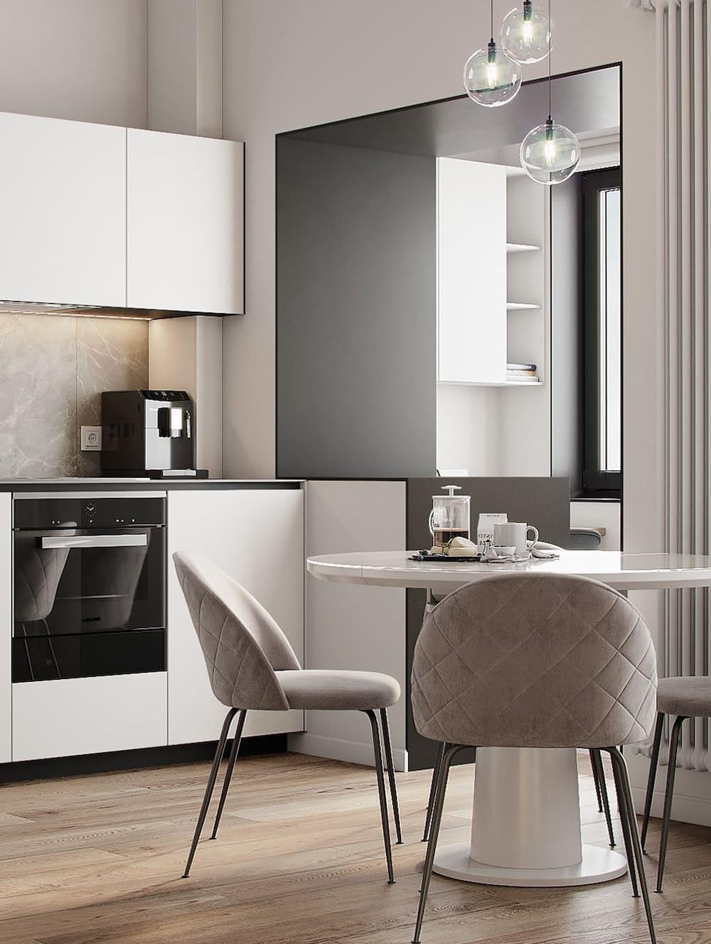photo de cuisine blanche 32
