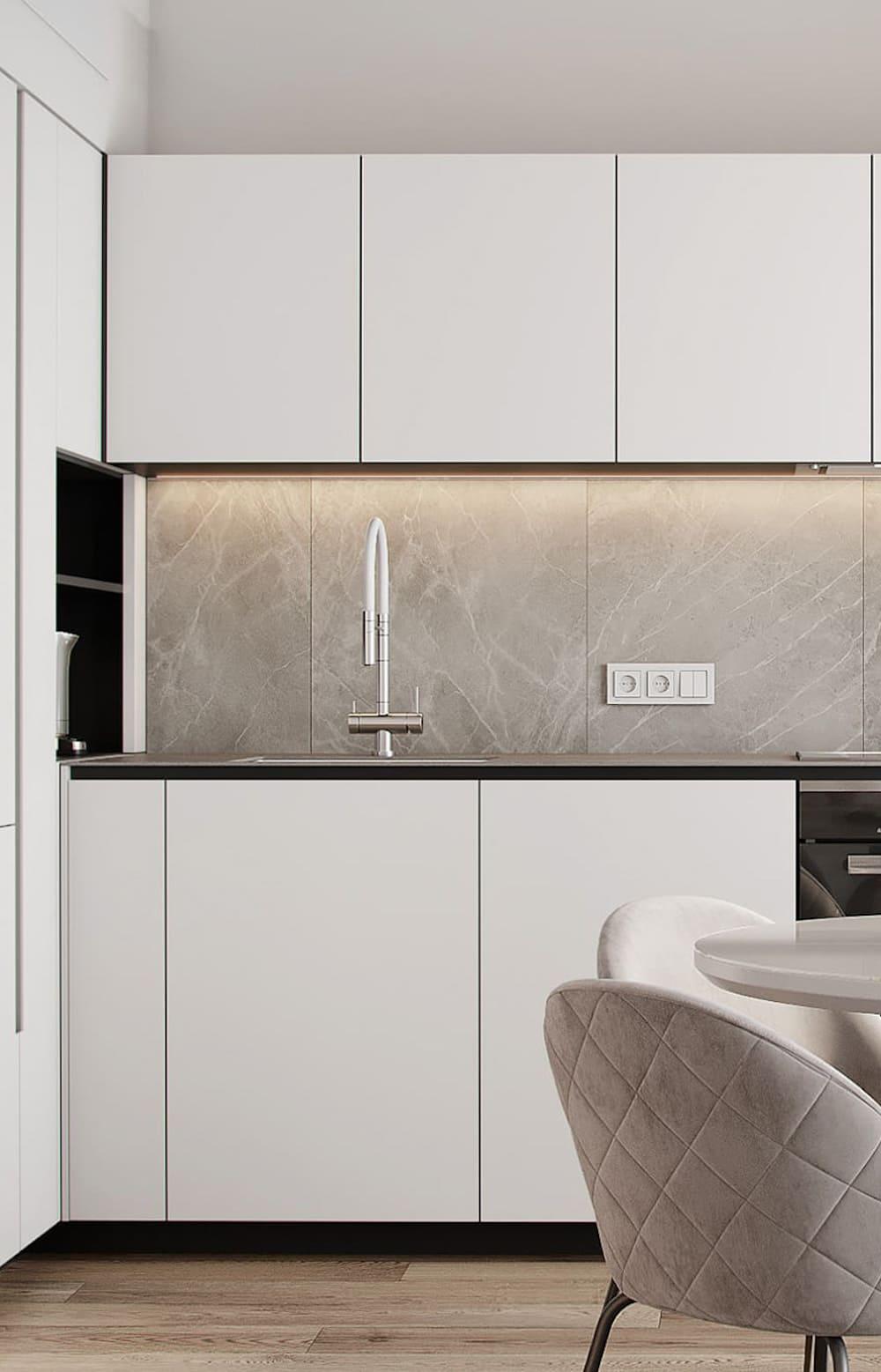 photo de cuisine blanche 31