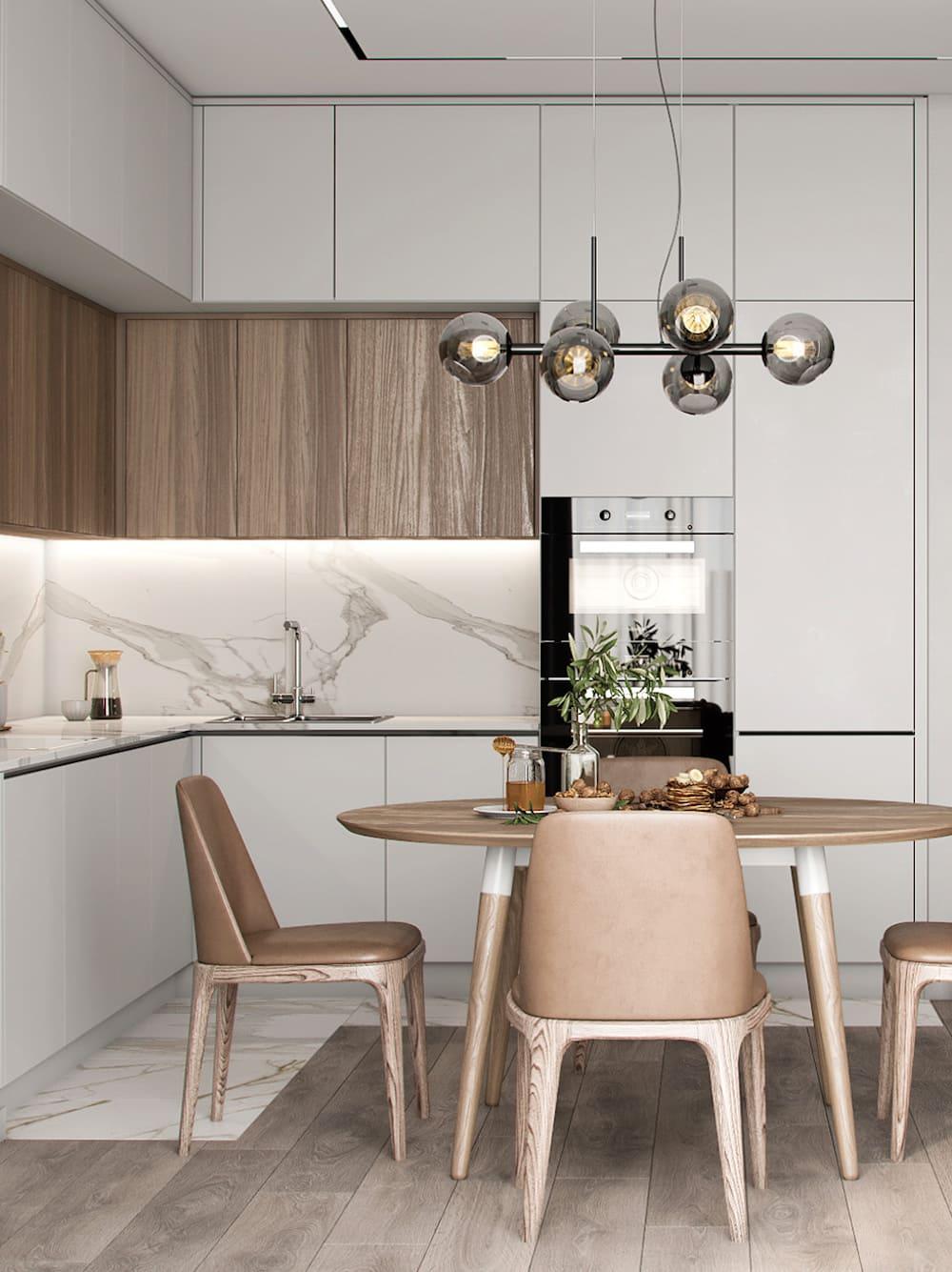 photo de cuisine blanche 36