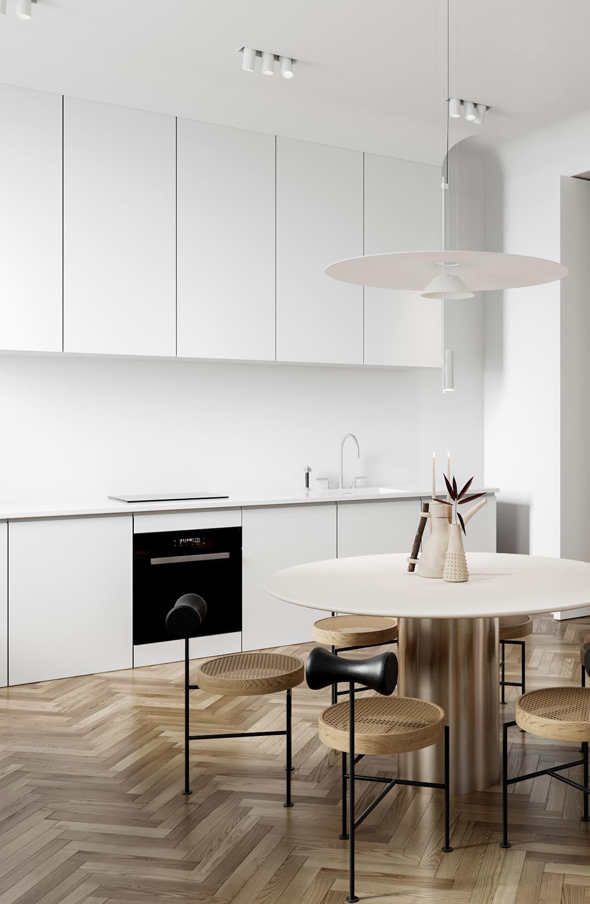 photo de cuisine blanche 39