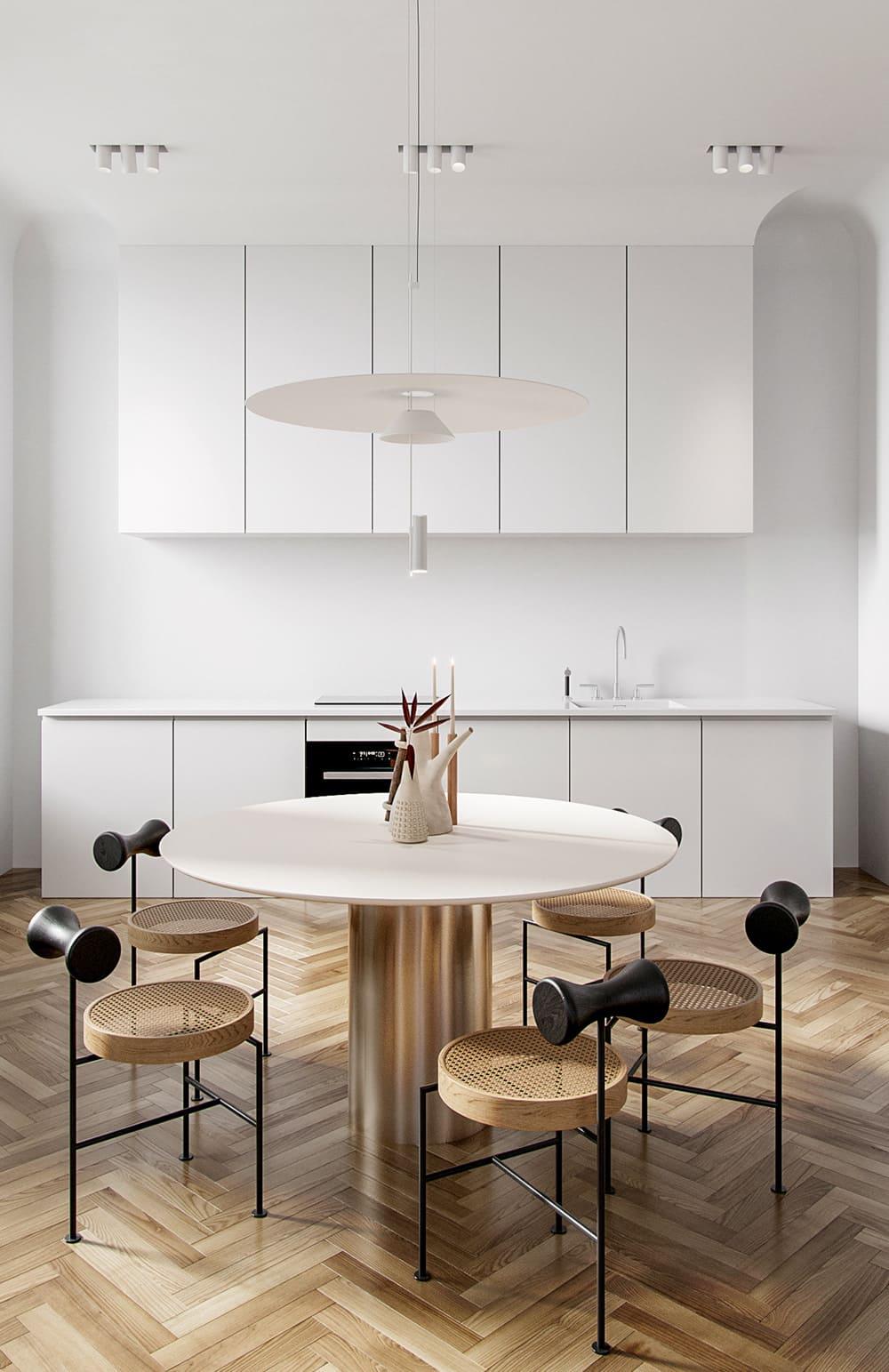 photo de cuisine blanche 41