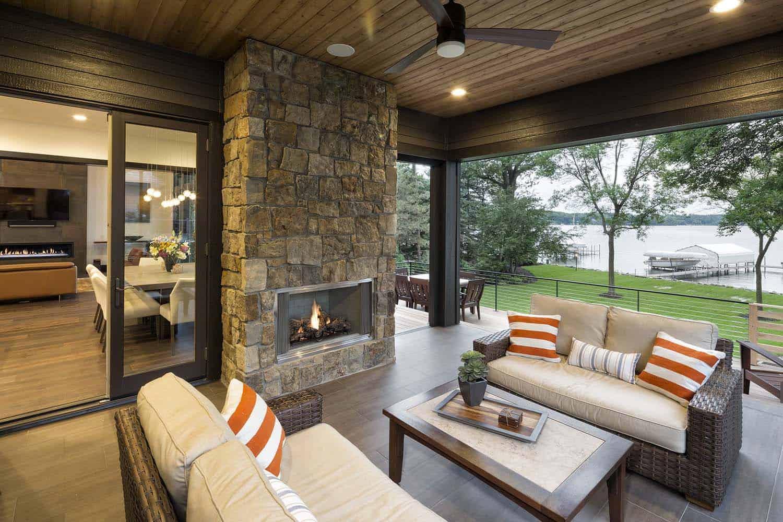 maison-du-lac-rustique-contemporaine-porche-couverte