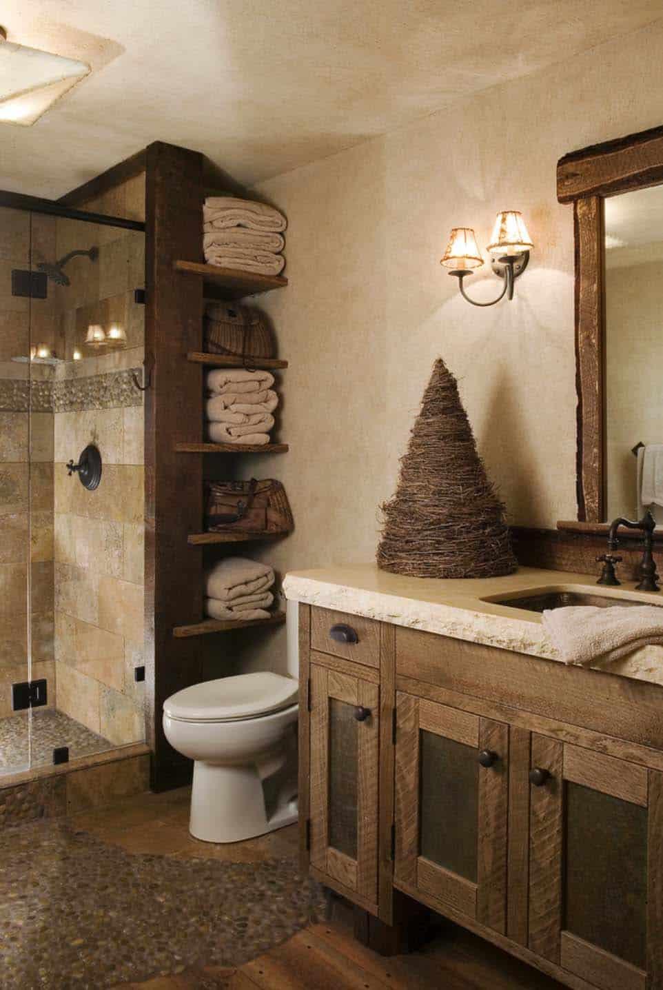 salle-de-bain-de-montagne-rustique