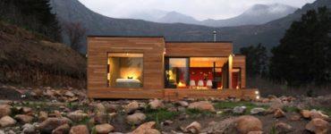 Ecomo House par Ecomo Modular Architecture à Franschhoek, Afrique du Sud