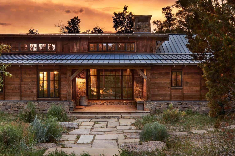 utah-rustique-ranch-maison-extérieur