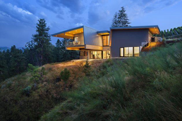 Résidence Lefebvre-Smyth par CEI Architecture à Summerland, Canada