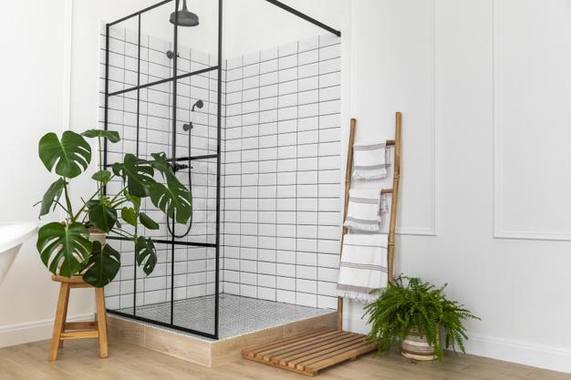 enlever la tache de la douche de la salle de bain