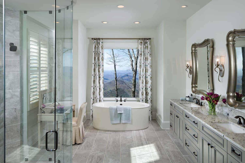 salle de bain traditionnelle