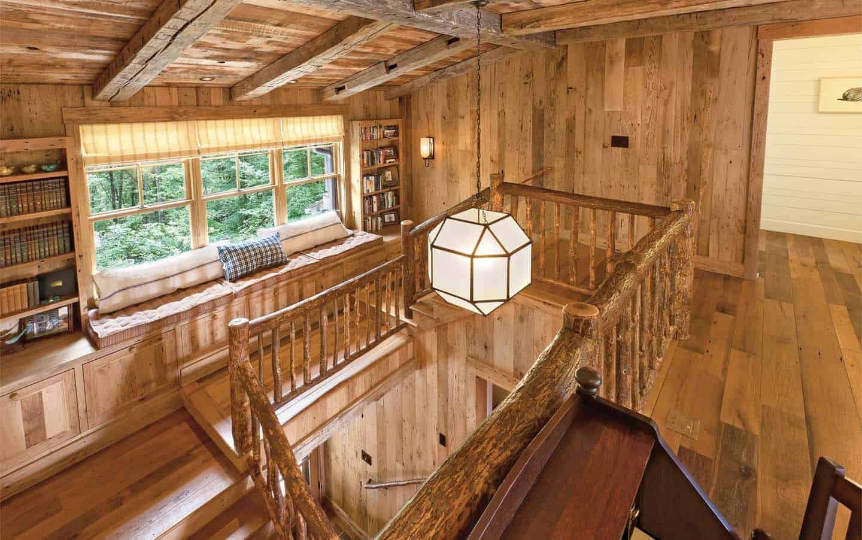 escalier-rustique