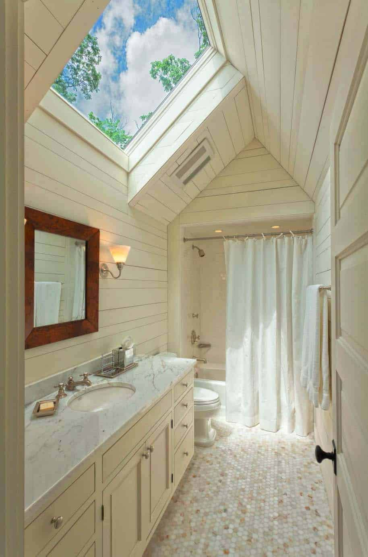 salle de bain-rustique