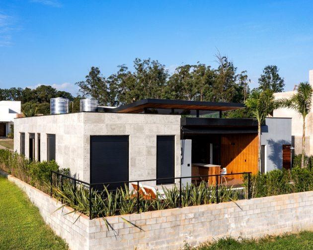 Maison Villas par Tagua Arquitetura au Brésil
