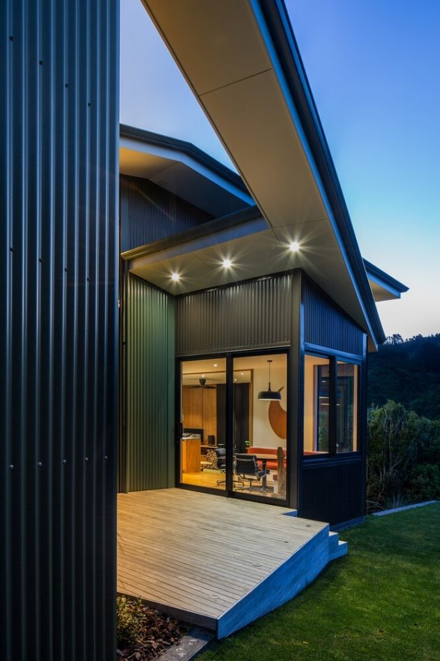 Korokoro Bush House par Parsonson Architects en Nouvelle-Zélande