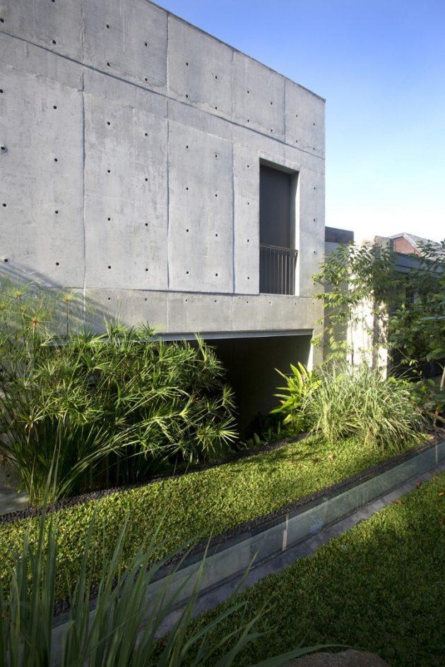 Namly House par CHANG Architects à Singapour