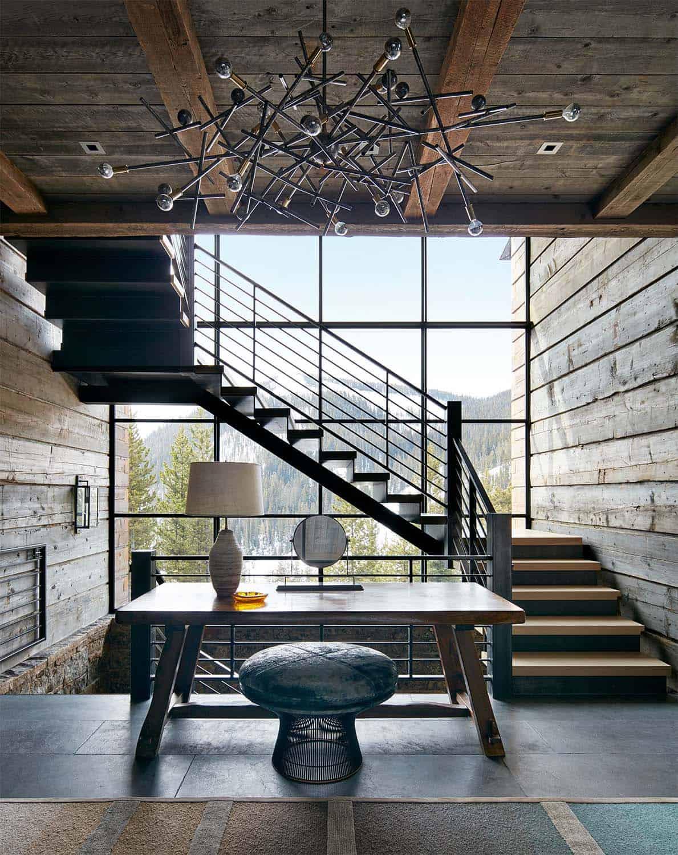 escalier-d'entrée-maison-moderne-montagne