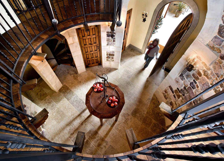escalier-maison-mediterraneen