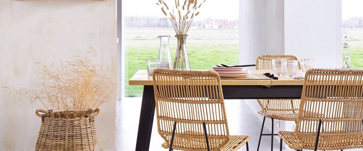 Furniture And Accessories Of Natural Fibers Your Home Has To Have